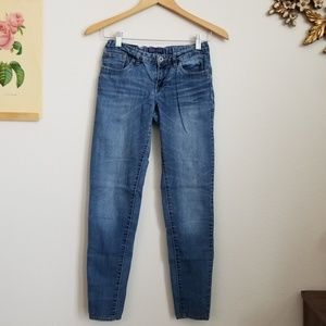 Levi's Medium Wash Denim Leggings Kids Size 14 Reg